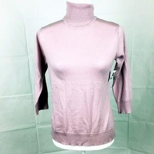 💕 Gap NWT Italian Merino Sweater Lavendar